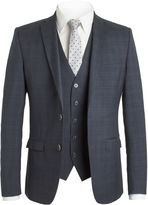 Ben Sherman Midnight Navy Check Jacket