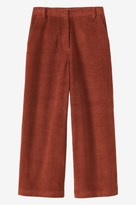 Toast Cord Cropped Trouser