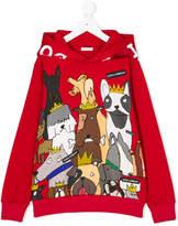 Dolce & Gabbana dogs print hoodie
