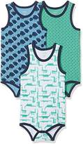 Care Baby Boys' Back Bodysuit, 3-pack