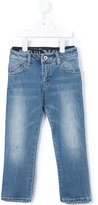 Armani Junior stonewashed jeans - kids - Cotton/Spandex/Elastane - 4 yrs