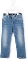 Armani Junior stonewashed jeans - kids - Cotton/Spandex/Elastane - 8 yrs
