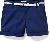Old Navy Belted Chino Shorts for Girls