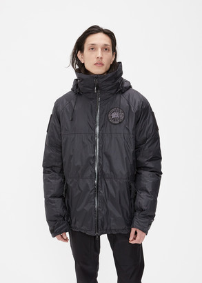Canada Goose Tactical Men's Brigade Jacket in Black Size Medium Nylon With Waterproof Breathable Coating/Recycled Polyester Lining/Down