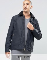 Barbour Fleece Jacket In Black