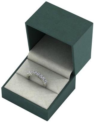 Love Diamond 9ct Gold 1 Carat Total 8 Stone Diamond Eternity Ring