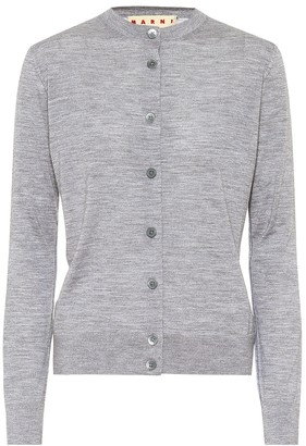 Marni Wool, silk and cashmere cardigan