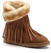 Lamo Women's 8-in. Fringe Wrap Boots