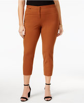 Alfani Plus Size Capri Pants, Only at Macy's
