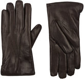 Barneys New York Men's Fur-Lined Gloves