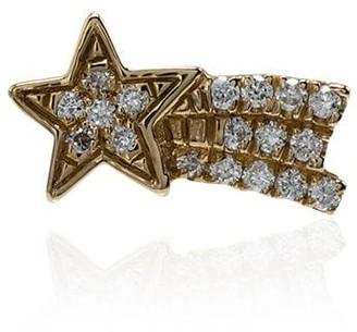 Loquet 18kt yellow gold Shooting Star diamond charm