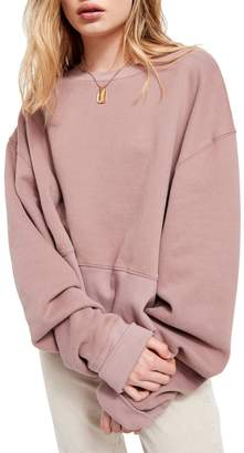 BDG Relaxed-Fit Slouchy Cotton Sweatshirt