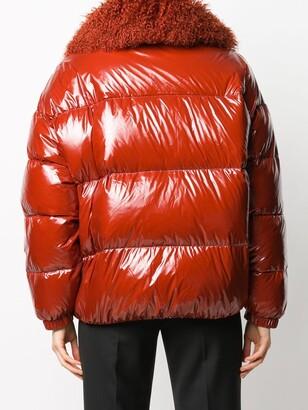 Yves Salomon Fur Collar Jacket