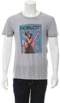 Dolce & Gabbana Graphic Scoop Neck T-Shirt