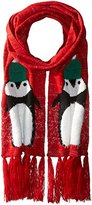 Collection XIIX Women's Chilly Penguin Muffler Scarf