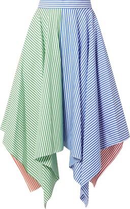 MDS Stripes Knee length skirts