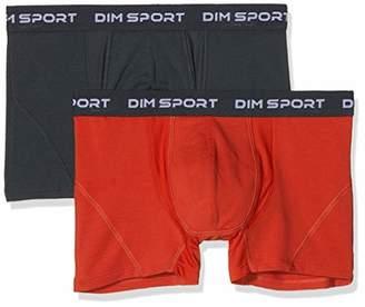 Dim Men's Boxer MAINTIEN Fort X2 Shorts,L (Size : 4) (Pack of 2)