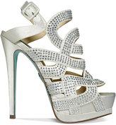Betsey Johnson Blue by Love Platform Evening Sandals