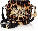 Juicy Couture Girls Velour Crossbody Bag