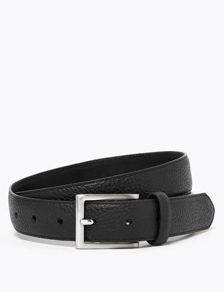 Marks and Spencer Textured Leather Slim Belt