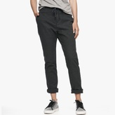 James Perse Flannel Twill Boyfriend Pant