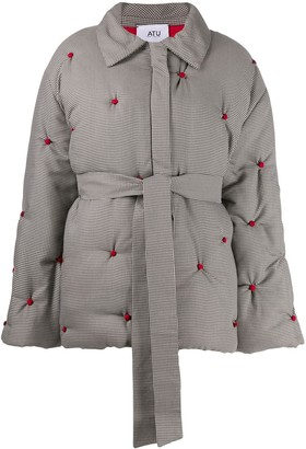 Couture Atu Body oversized quilted coat