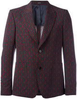 Alexander McQueen printed blazer - men - Silk/Polyamide/Viscose/Virgin Wool - 46