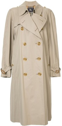 Burberry Pre Owned Long Sleeve Trenchcoat