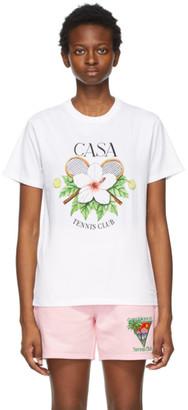 Casablanca White Casa Tennis Club T-Shirt