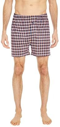 Tommy Bahama Knit Boxers (Fall Mini Plaid) Men's Underwear