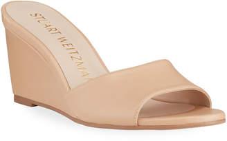 Stuart Weitzman Larunda Napa Wedge Sandals