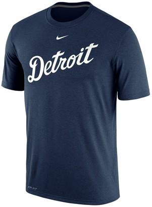 Nike Men's Navy Detroit Tigers Legend Primary Logo Performance T-Shirt