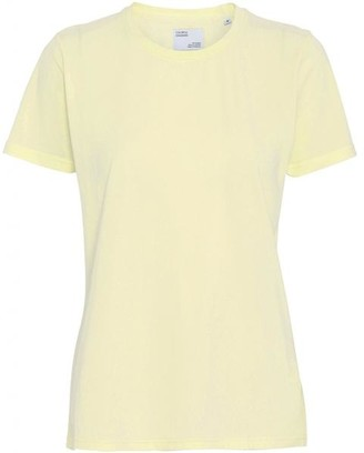 Colorful Standard - Pale Yellow Soft Yellow Organic Cotton T Shirt - S / Jaune pale