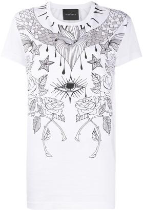 John Richmond graphic print T-shirt