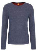 HUGO BOSS Cotton Melange Long Sleeve Shirt Wanna LBlue