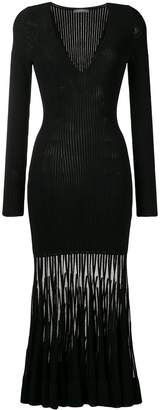 Alexander McQueen knitted long dress