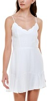 Thumbnail for your product : Trixxi Juniors' Scalloped Fit & Flare Dress