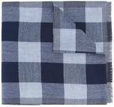 Ermenegildo Zegna checked scarf