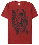 Fifth Sun Black Panther Red Paint Panther Tee - Men & Big