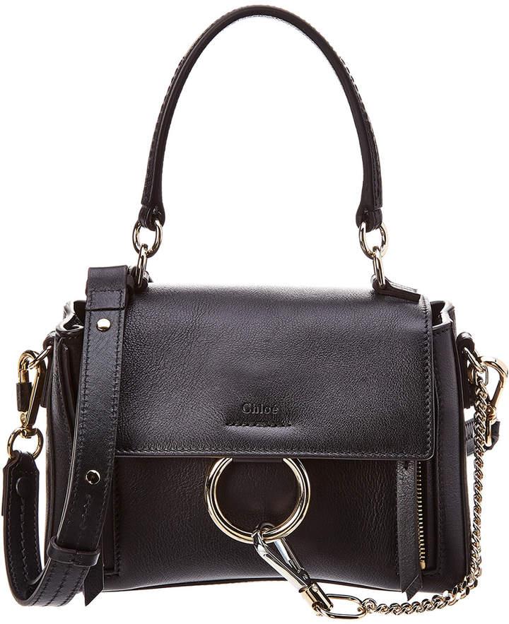 Faye Day Mini Leather Shoulder Bag