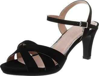 Maria Mare Women's 67658 Open Toe Sandals Black (Afelpado Negro C3931) 3 UK
