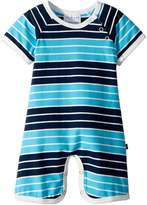 Toobydoo On The Beach Stripe Shortie Jumpsuit Boy's Jumpsuit & Rompers One Piece