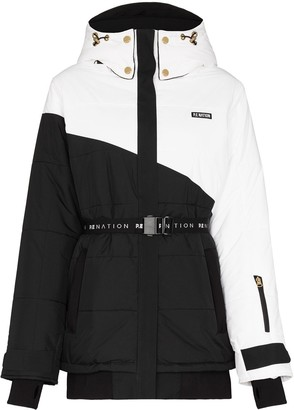 P.E Nation Run two-tone ski jacket