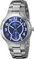 Philip Stein Teslar Men's 42-SBL-SS Analog Display Japanese Quartz Silver Watch