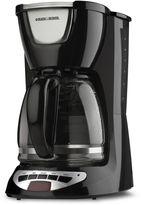 Black & Decker Black & DeckerTM DCM100B 12-Cup Programmable Coffee Maker in Black