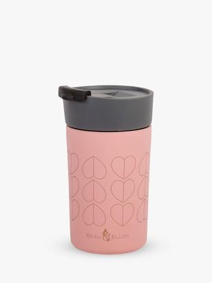 Beau & Elliot Dove Insulated Travel Mug, 300ml, Blush