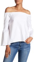 525 America Off-the-Shoulder Bell Sleeve Blouse