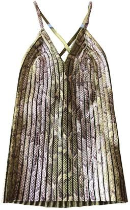 Burberry Green Python Top for Women