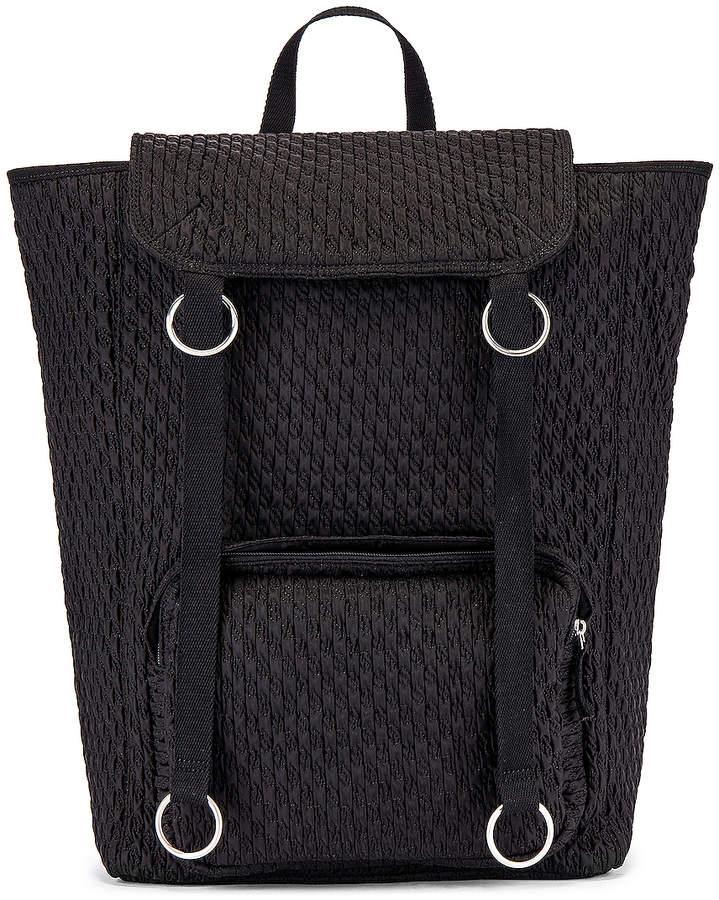 Raf Simons Topload Loop Backpack in Black | FWRD