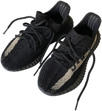 Yeezy Boost 350 V2 Black Cloth Trainers